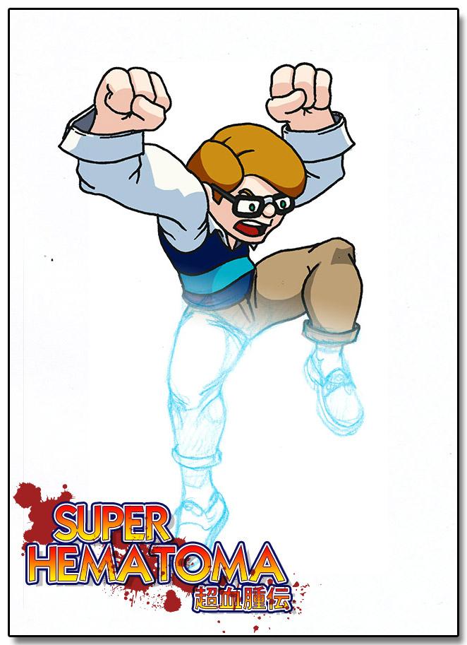 Super Hematoma Nerd Concept