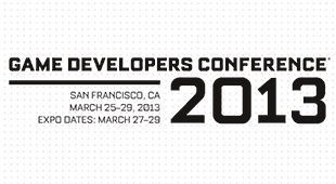 a screen grab of the game developers conference website advertising the expo dates for march 2013 in San Francisco, ca
