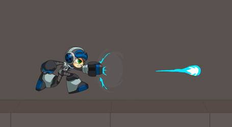 Jay Edry's Mighty No 9 fan art animation of Beck
