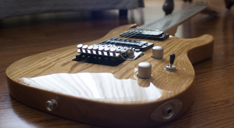 Stephen Tucker's 7 string gutar